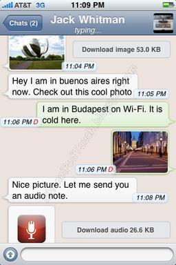 WhatsApp Messenger (2.6.3) - ipa - Fans de Apple